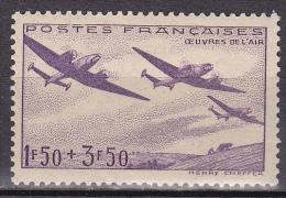 N° 540 Au Profit Des Oeuvres De L'Air  : Timbre Neuf Sans Charnière - Unused Stamps