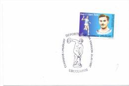 URUGUAY FDC  100 MT  (M160004) - Giochi Olimpici