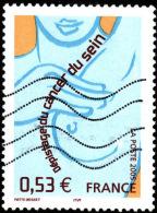 FRANCE  2005 -  Y&T  3836 - Cancer Du Sein   - Oblitéré - Gebruikt