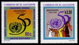 El Salvador, 1995, United Nations 50th Anniversary, MNH, Michel 1997-1998 - El Salvador