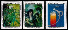 Honduras, 1995, United Nations 50th Anniversary, MNH, Michel 1249-1251 - Honduras