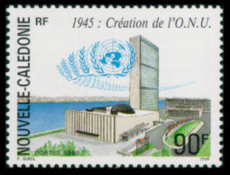 New Caledonia, 1995, United Nations 50th Anniversary, MNH, Michel 1042 - Nouvelle-Calédonie