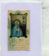 IMAGE RELIGIEUSE  .......  MARIE EST UN SACREMENT DE PURE MISERICORDE - Devotieprenten