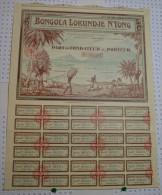 Bongola Lokundje N'Yong à Douala, Part De Fondateur - Asie