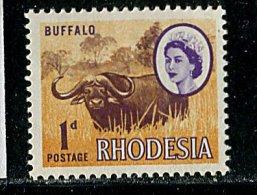 (cl.13 - P.3) Rhodésie ** N° 130 (ref. Michel Au Dos) - Buffle - Autres