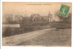 33 Cailleau, église Saint Pierre (Alb1p79) - Autres Communes