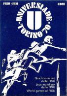 [MD0637] CARTOLINA - TORINO - UNIVERSIADE TORINO 70 - CON ANNULLO CERIMONIA DI APERTURA 26.8.1970 - NV - Cartoline