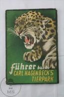 Old 1936 German Zoo Book: Führer Durch - Carl Hagenbecks Tierpark Parc Zoologique - Animaux