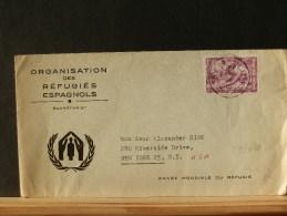 57/610  LETTRE   BELGE 1960 - Vluchtelingen