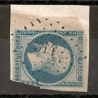 PC 314 BEAUMONT EN GATINAIS Seine Et Marne. Indice 8. - 1853-1860 Napoleon III
