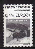 Andorra,Spanish Andorra 2004 Europa 2004 - Holidays.MNH - Andorre Espagnol