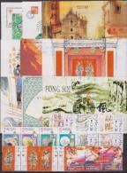 1997 MACAO CHINA YEAR SET MNH 9 S/S + 45 V. MNH - Macau