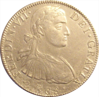 ESPAÑA. FERNANDO VII. 8 REALES 1.808 MÉXICO. BUSTO DE ALMIRANTE. ESPAGNE. SPAIN - [ 1] …-1931 : Reino