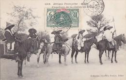 Afrique - Soudan - Cavaliers De La Régio De Segou - Cachets Postaux 1908 - Soudan