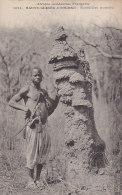 Afrique - Soudan Haute-Guinée - Type - Termitière - Curiosité - Sudan