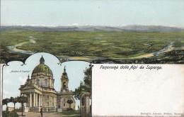 Italie - Superga - Panorama Delle Alpi Da Superga - Churches