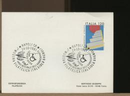 ITALIA - NAPOLI - ANNO INTERNAZIONALE HANDICAP - ITALSIDER BAGNOLI - RULLI CALANDRA LASTRA - Fabbriche E Imprese