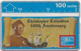 Gibraltar - GNC - Columbus 500th Anniversary - 1992, L&G, 50.000ex, Mint - Gibraltar
