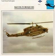 BELL  UH-1N  IROQUOIS      2 SCAN   (NUOVA  CON DESCRIZIOENE TECNICA SUL RETRO) - Elicotteri