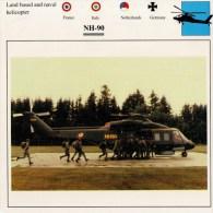 NH-90      2 SCAN   (NUOVA  CON DESCRIZIOENE TECNICA SUL RETRO) - Elicotteri
