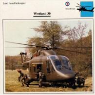 WESTLAND   30       2 SCAN   (NUOVA  CON DESCRIZIOENE TECNICA SUL RETRO) - Elicotteri