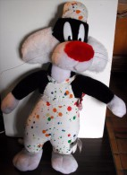 Peluche Grosminet En Salopette De Peintre - Cuddly Toys