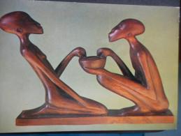 "CP - RUANDA ""MITEINANDER TEILEN - WEISSE VATER"" - Ruanda-Urundi"