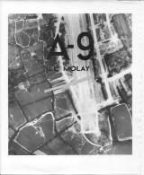 Avril-juillet 1944 USAAF Calvados Le Molay 1 Photo Aérienne 1939-1945 39-45 Ww2 Wk2 - War, Military