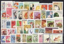 27-602 A // VIETNAM   50  DIFFEREND STAMPS Fom VIETNAM - Stamps