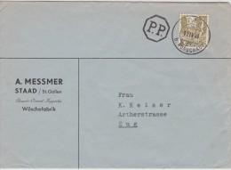 SUISSE   1944 LETTRE DE STAAD - Switzerland