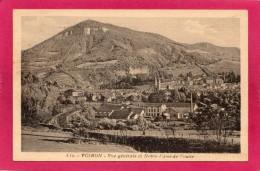 38 ISERE VOIRON, Vue Générale, Nptre-Dame De Vouise, (Martinotto, Grenoble) - Voiron