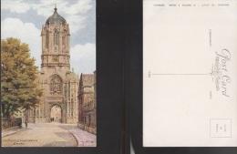 4411) OXFORD TOM TOWER CHRISTCHURCH ILLUSTRATORE A.R.QUINTON NON VIAGGIATA FORMATO PICCOLO - Oxford