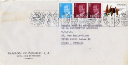 "1984 - Espagne - EMA ""Carnaval De Tenerife"" - TP Yvert N°1993 + 2058 + Poste Aérienne N°303 - Marcophilie - EMA (Empreintes Machines)"