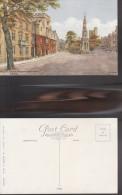 4412) OXFORD BALLIOL COLLEGE & MARTYRS' MEMORIAL ILLUSTRATORE A.R.QUINTON NON VIAGGIATA FORMATO PICCOLO - Oxford
