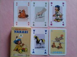 YAKARI. Jeu De 52 Cartes + 2 Jokers.dans Sa Boite Carton. Toutes Les Cartes Sont Imagées - Cartes à Jouer Classiques