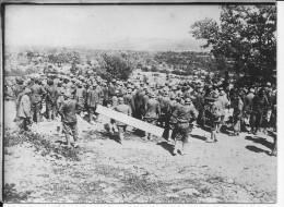 1917-1918 Région De Trentin Carso Soldats Italiens Avec Casques 1 Photo 14-18 1914-1918 Ww1 Wk1 - War, Military