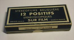 Stéréofilms Bruguière - Châteaux De La Loire - Dias