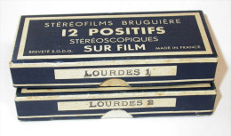 Stéréofilms Bruguière - Lourdes - Dias