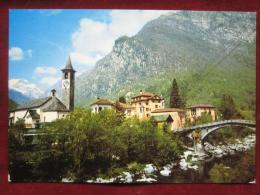 Cevio (TI) - Bignasco / Steinbrücke - TI Ticino