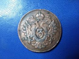 FRANCOIS II °3 KEUZER 1800 S° - Austria