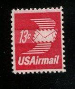 200225501 USA 1973 POSTFRIS MINT NEVER HINGED POSTFRISCH EINWANDFREI SCOTT  C79 WINGED AIRMAIL ENVELOPE - Air Mail