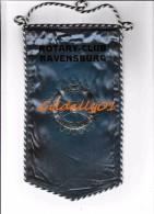 Fanion:    RAVENSBURG.  -   ROTARY CLUB INTEERNATIONAL - Organisations