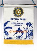 Fanion:    PORT ANTONIO - JAMAICA.  -   ROTARY CLUB INTEERNATIONAL - Organisations