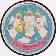 Mercury Miniature RARE 78 T PICTURE RECORD Disque 18 CM MERCURY COLLECTOR N° 5013 Nuit étoilée Et 3 Anges - Formats Spéciaux