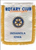 Banner:   INDIANOLA - IOWA.  -   ROTARY CLUB INTEERNATIONAL - Organizations
