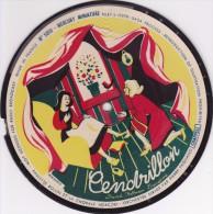 Mercury Miniature RARE 78 T PICTURE RECORD Disque 18 CM MERCURY COLLECTOR N° 5010 Cendrillon - Formats Spéciaux
