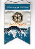 Fanion:   STOCKHOLM-ARSTA  -   ROTARY KLUBB INTEERNATIONAL - Organisations