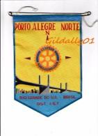 Fanion:   PORTO ALEGRE NORTE - BRASIL   -    ROTARY CLUB INTEERNATIONAL - Organisations