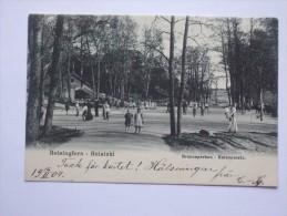 HELSINKI HELSINGFORS BRUNNESPARKEN 1904 - Finland