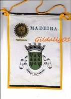 Fanion:  MADEIRA - PORTUGAL   -    ROTARY CLUB INTEERNATIONAL - Organisations